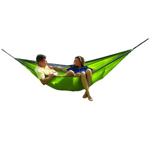 Rampler Double Parachute Hammock, Green, swatch
