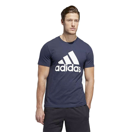 Men's Badge Of Sport Short Sleeve T-Shirt, Navy, swatch