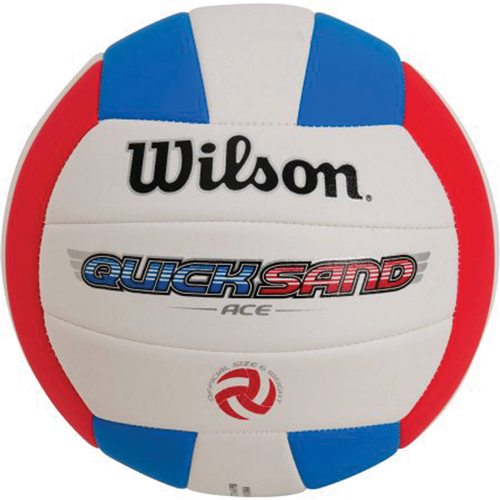 AVP Quicksand Volleyball, Red/Blue, swatch