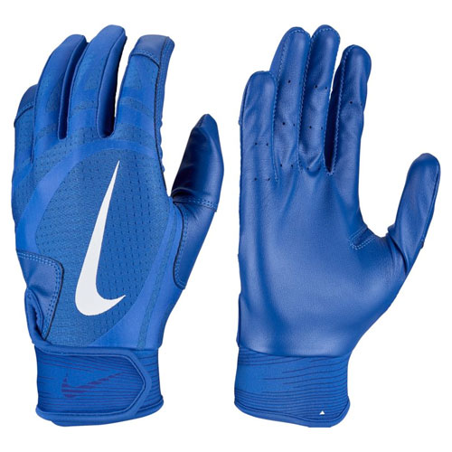 Youth Alpha Huarache Edge Batting Gloves, Royal Bl,Sapphire,Marine, swatch
