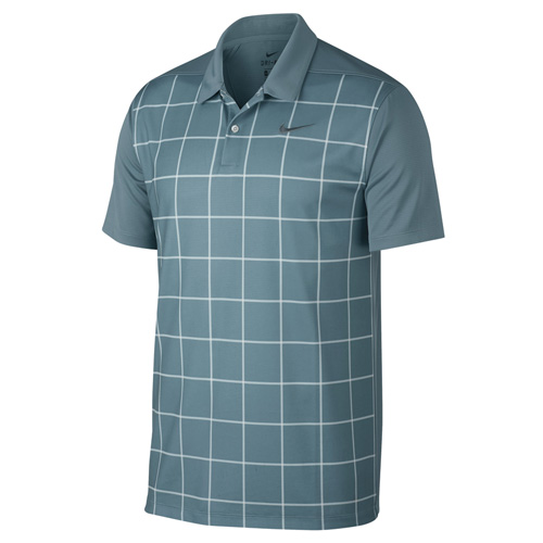Men's Essential Dri-fit Polo, Gray/White, swatch