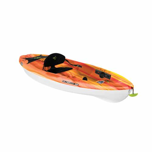 Ultimate 100 Sit-On Kayak, Red/Yellow, swatch