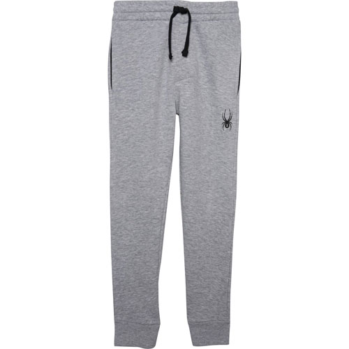 Boys' Basic Joggers, Heather Gray, swatch