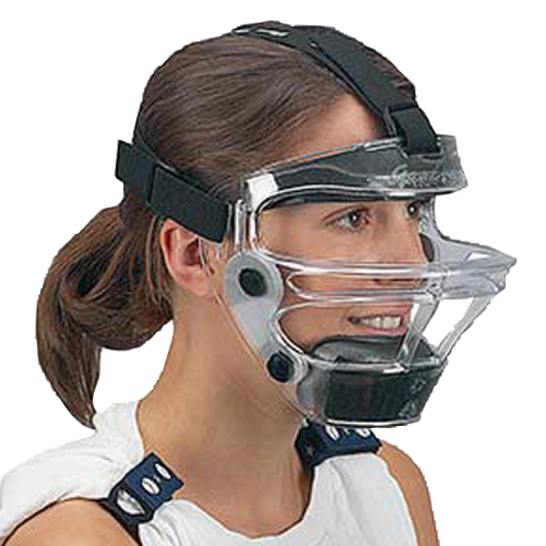 Game Face Fielders Mask, Clear, swatch