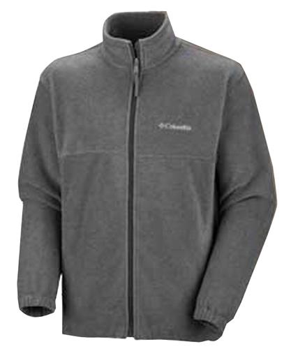 Men's Steens Mountain Full Zip Fleece, Gray, swatch