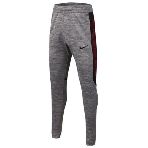 Boy's Dri-fit Therma Elite Pant, Charcoal,Smoke,Steel, swatch