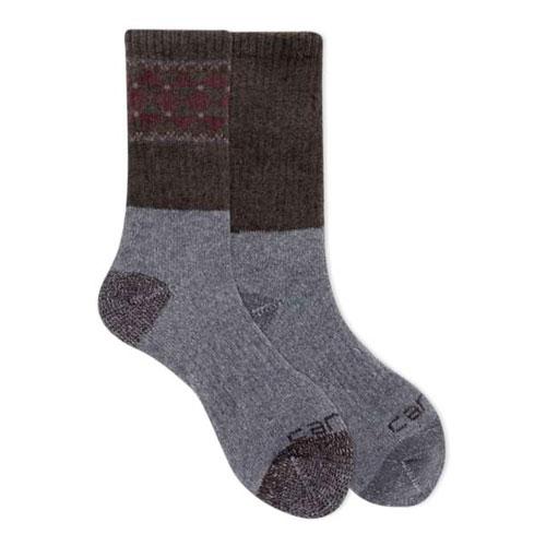 Wool Blend Crew Socks 4-Pack, Purple, swatch
