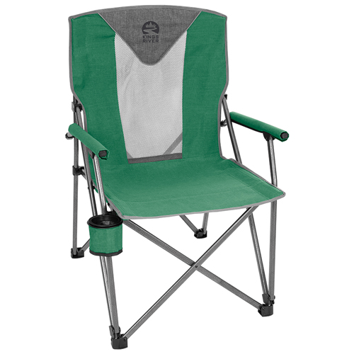 Deluxe Hard Arm Chair, Green, swatch
