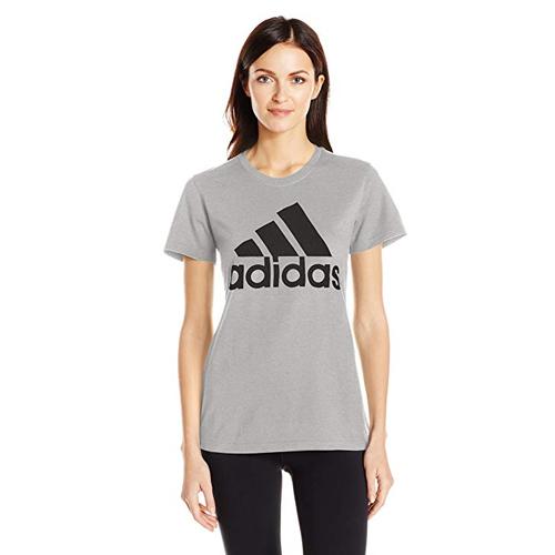 Women's Classic Logo T-shirt, Charcoal,Smoke,Steel, swatch