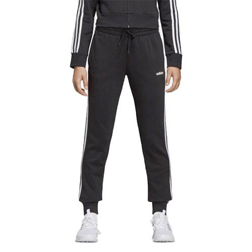 Women's Essentials 3-Stripes Jogger, Black/White, swatch