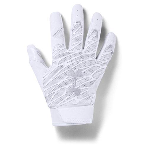 Men's Spotlight NFL Football Gloves, White, swatch