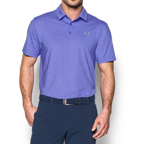 Men's Playoff Golf Polo, Purple, swatch