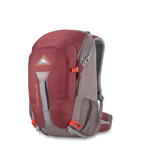 Pathway 40L Frame Pack, Red/Gray, swatch