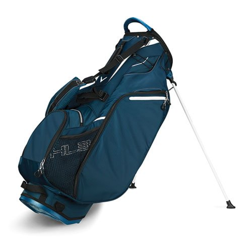 Hyper-Lite 3 Golf Stand Bag, Navy, swatch
