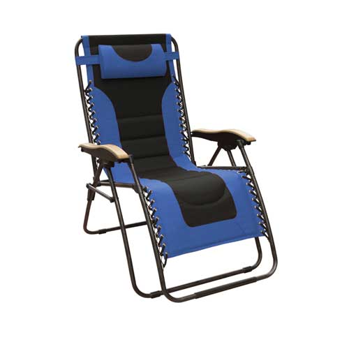 Xl Deluxe Gravity Chair, Blue, swatch