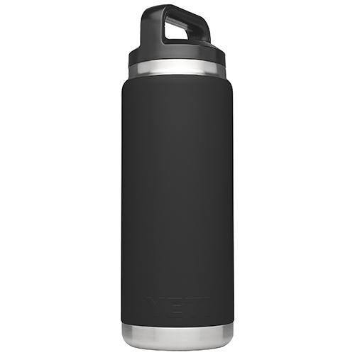 26 Oz. Rambler Bottle, Black, swatch