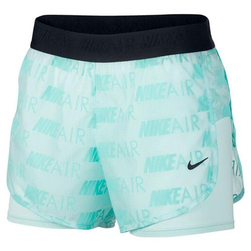Women's Air Shorts, Green Blue, Teal, swatch