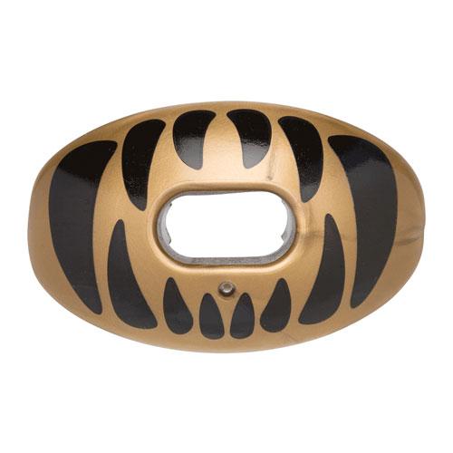 Predator Oxygen Lip Mouthguard, Gold/Black, swatch