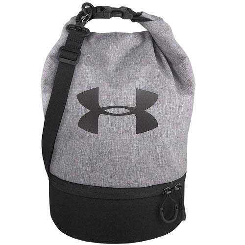 Under Armour Dual Compartment Lunch Bag, Heather Gray, swatch