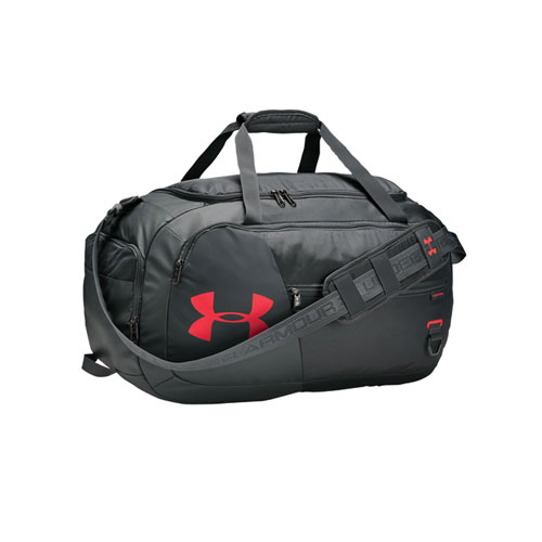 Undeniable 4.0 Medium Duffle Bag, Gray/Red, swatch