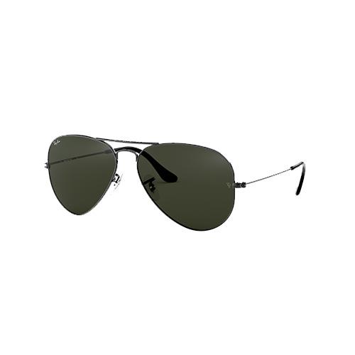 Aviator Classic Sunglasses, 0Xford,Gun Metal, swatch
