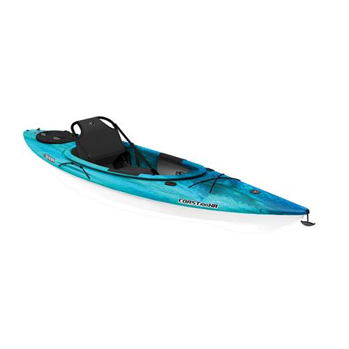 Coast 100XR Sit-In Kayak, Turquoise,Aqua, swatch