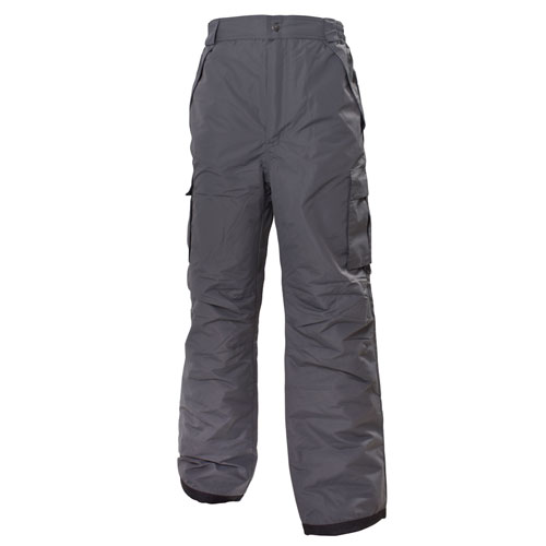 Men's Cargo Snowboard Pant, Heather Gray, swatch
