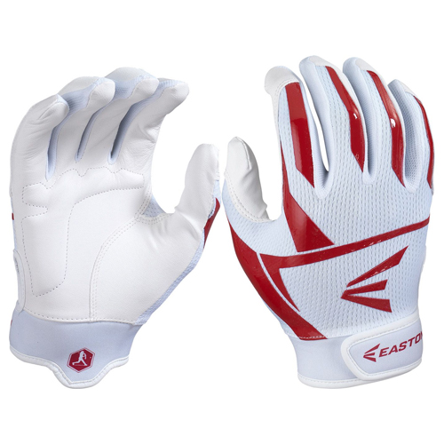 Women's Prowess Batting Gloves, White/Red, swatch