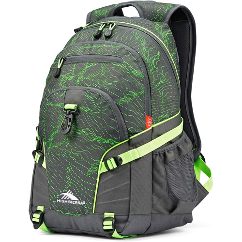 Loop Daypack, Gray/Lime, swatch