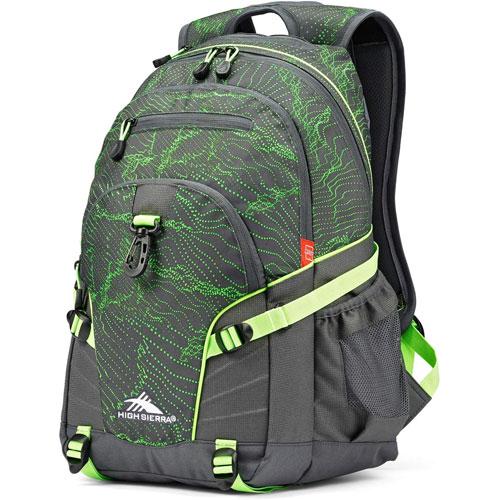 Loop Daypack, Gray/Lime, swatch