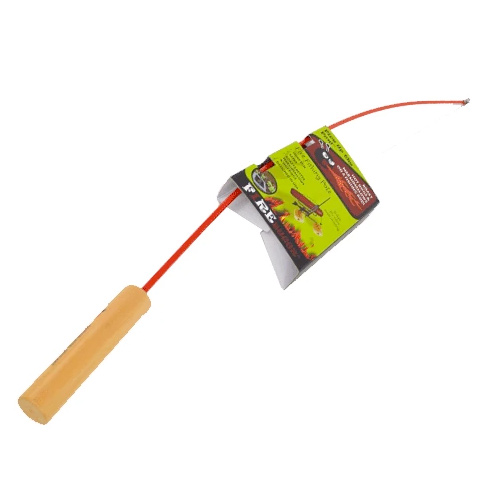 Fire Fishing Pole, Red, swatch