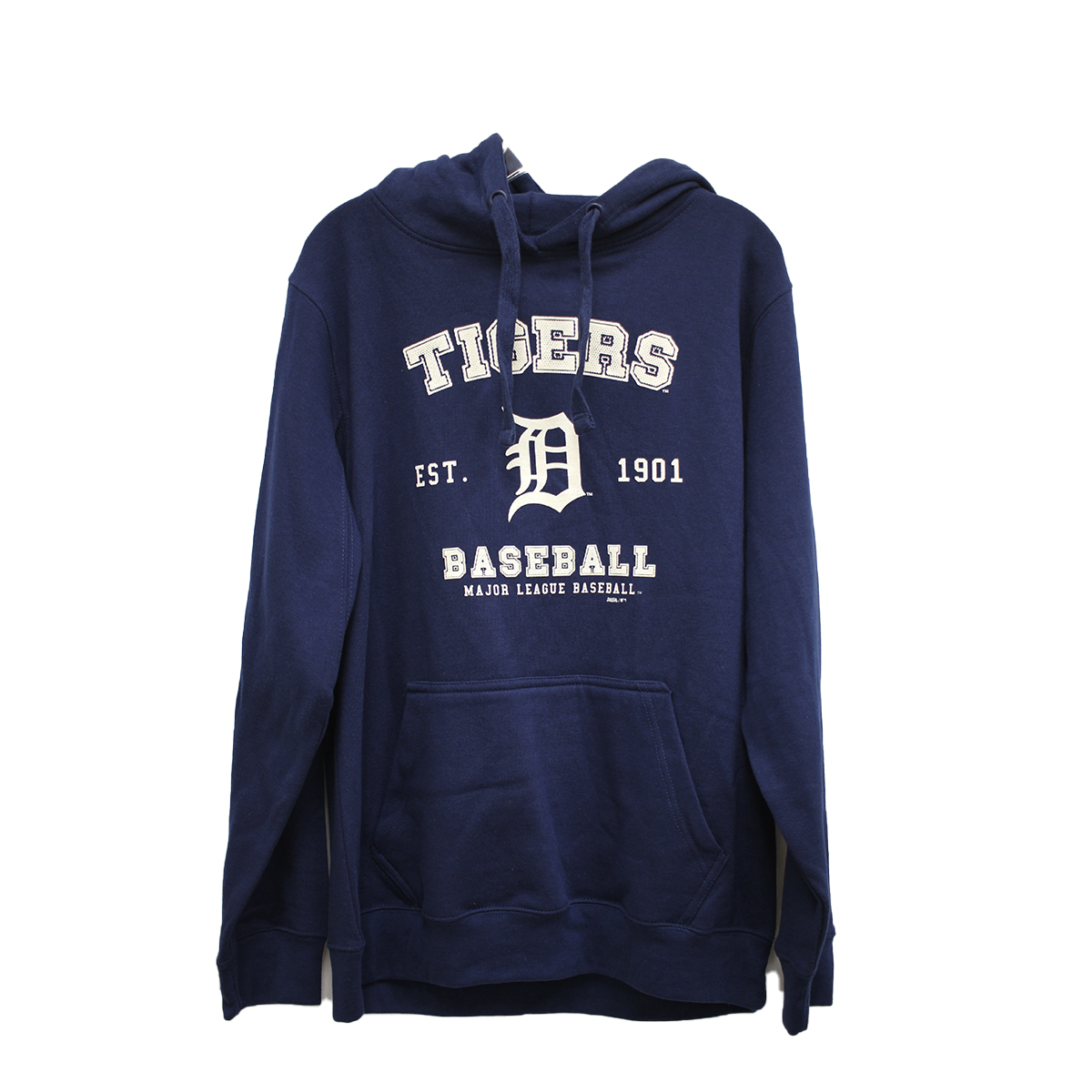 Men's Detroit Tigers Stitches Pull Over Hoodies, Navy, swatch
