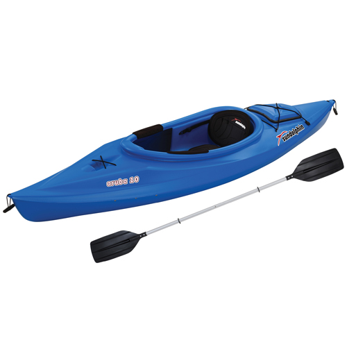 "Aruba 10"" Sit-In Kayak, Blue, swatch"