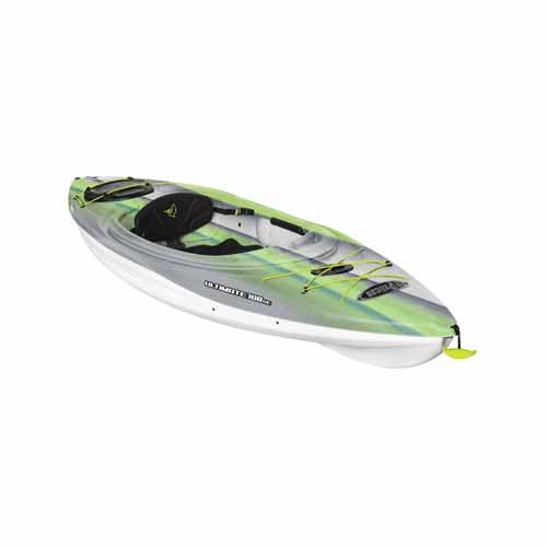 Ultimate 100 Sit-in Kayak, Green/White, swatch