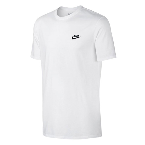 Men's Embroidered Futura Short Sleeve Tee, White, swatch