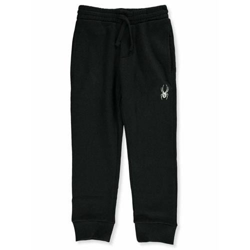 Boy's logo Jogger Size 8-20, Black, swatch
