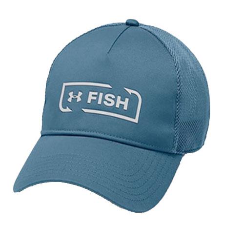Men's Fish Hook Trucker Hat, Royal Bl,Sapphire,Marine, swatch
