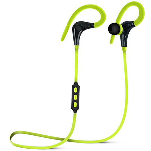 Marathon Sport Wireless Bluetooth Earphones, Green, swatch