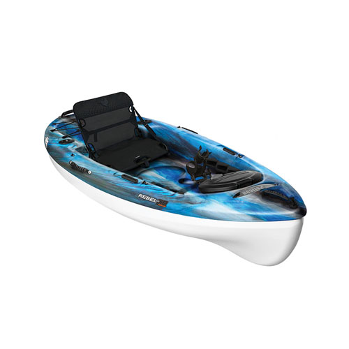Rebel 100XR Angler Sit-on Kayak, Blue/Black, swatch
