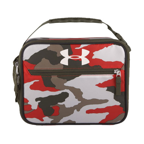 UA Scrimmage Lunch Box, Camoflage Tan, swatch