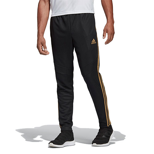 Reflective Tiro 19 Training Pants, Black/Gold, swatch