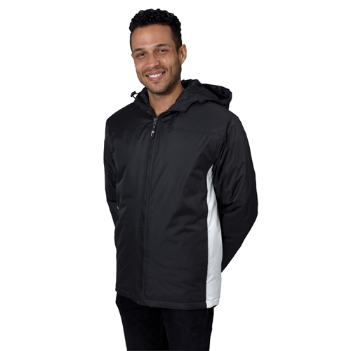 Mens Filled Yakima Jacket, Black, swatch