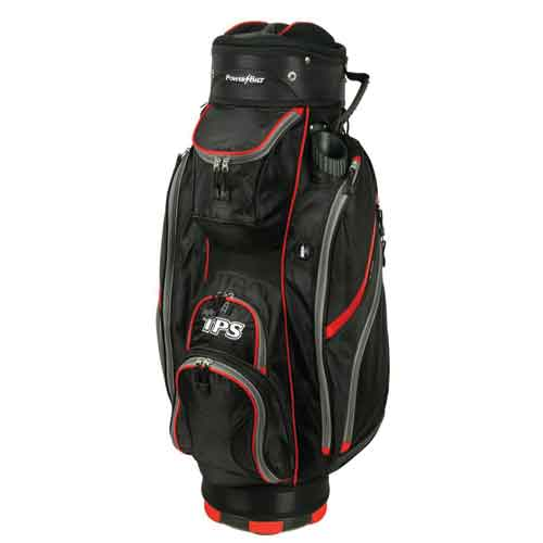 TPS 5400 Deluxe Cart Bag, Black/Red, large