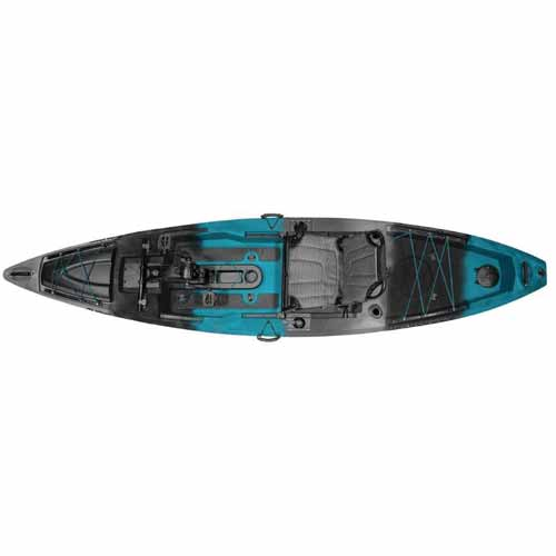 PDX Pedal Drive Angler Kayak, Blue/Black, swatch
