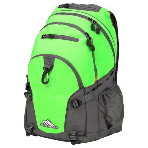 Loop Daypack, Neon Green, swatch