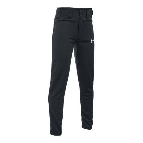 Youth Clean-Up Baseball Pants, Black, swatch