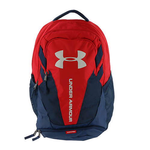 Hustle 3.0 Backpack, Navy/Red, swatch