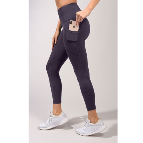 Women's Lux High Rise Ankle Leggings, Royal Bl,Sapphire,Marine, swatch