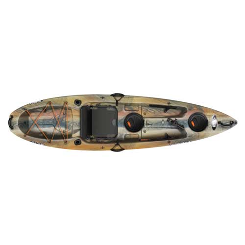 Contender 100xr Sit-on-top Angler Kayak, Camouflage Brown, swatch
