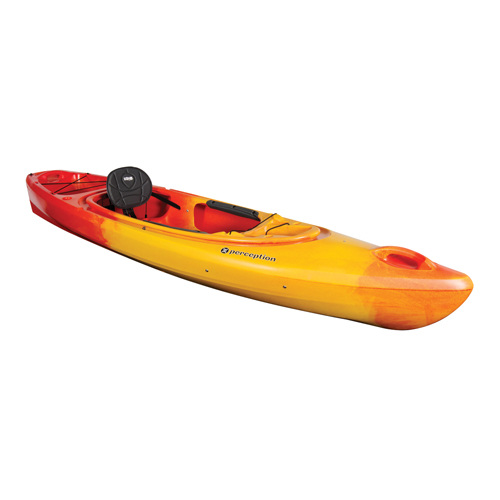 Sound 9.5 Sit-In Kayak, Red/Yellow, swatch